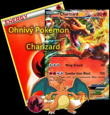 Ohnivý Pokemon Charizard