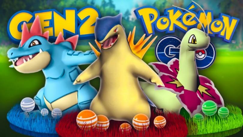 Pokemon GO 2. generace